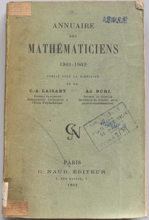 Couverture annuaire